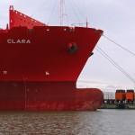 Rotterdam harbour ship